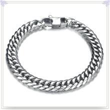 Jóias de moda pulseira de silicone Pulseira de aço inoxidável (HR150)