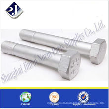 Sechskantschraube für die Stromerzeugung TS16949 ISO9001