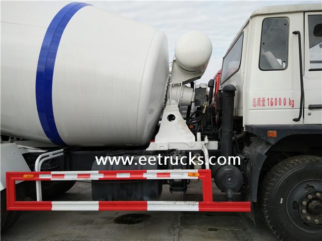 4 CBM Concrete Mixer Truck