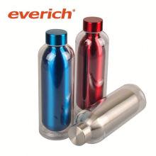 Heißer Verkauf auslaufsichere quadratische Edelstahl-Wasserflasche