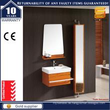 Moderne Stil Solide Eiche Holz Badezimmer Vanity Cabinet