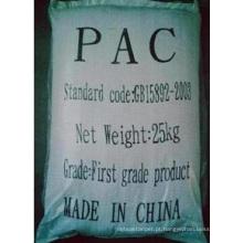 Cloreto de polialumínio para tratamento de água Químico cloreto de polialumínio (PAC)