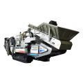 Crawler Wheel Mounted Mobile Crusher for Granite Crushing and Screening