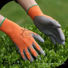 SRSAFETY 13G бесшовные трикотажные пуховые садовые перчатки резиновые перчатки