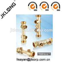 Brass Flow tube for remote meter