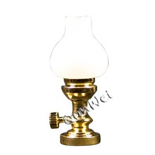 Top for Dollhouse Table Lamp Dollhouse Table Lamp with Frosted Shade export to Germany Factories