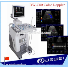 equipo de ultrasonido doppler color y equipo de ultrasonido DW-C80 PLUS