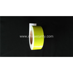 Fluorescent yellow  Reflective Tape Stripe with Adhesive