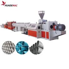 Máquina para fabricar tubos de una capa de UPVC