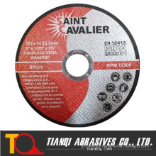 125X1.0X22 Inox Cutting Disc Cutting Wheels for Stainless Steel