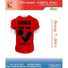 Fitnessstudio stilvolle Bodybuilding T-Shirt / Training T-Shirt / Mode-Shirt