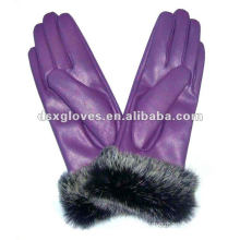 graceful fashion leather gloves
