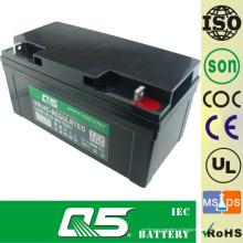 Bateria 12V65AH de ciclo profundo Bateria de ácido e chumbo Bateria de descarga profunda