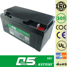 12V65AH Батарея с глубоким циклом Свинцовая кислотная батарея Глубокая разрядная батарея