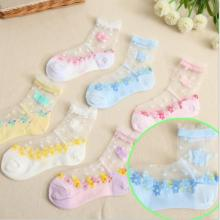 Fashion Mesh Thin Summer Socks for Girls and Boys
