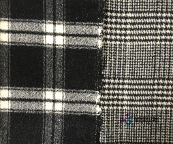 Classic Check Pure Wool Fabric