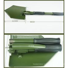 Camping Germeny Type Pelle pliante en acier au carbone (CL2T-SF304GB)