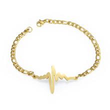 Fashion Custome Schmuck Blitz Heartbeat Armband für Liebhaber