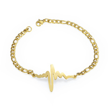 Bracelet de battement de coeur de Lightning de bijoux de Custome de mode pour l'amant