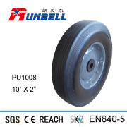Polyethane Solid Rubber Wheel Caster for Carts