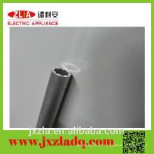 Gama completa de tamaños de tubo redondo de aluminio