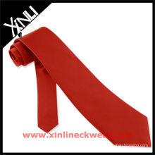 Cravate rouge de vente chaude