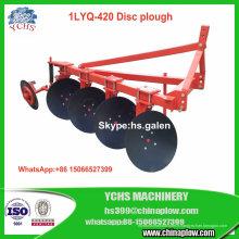 Charrue légère 1lyq-420 de disque d'équipement agricole pour le tracteur de Foton