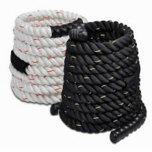 Cuerda PP cuerda de amarre blanco y negro