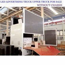Camion de publicité mobile adapté aux besoins du client de LED avec l'étape
