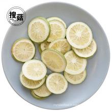 Tranches de citron vert lyophilisé Rich Nutrition Snack