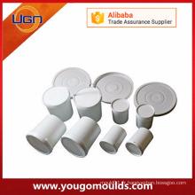 Moule à briques en béton en béton en plastique à faible coût