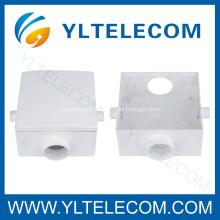 Caixa de proteção do cabo de plástico, atravessar a caixa, caixa comum para FTTH cabeamento da tubulação