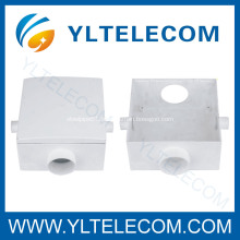 Plastic Cable Protection Box, Crossing Box,Pipe Joint Box For FTTH Cabling