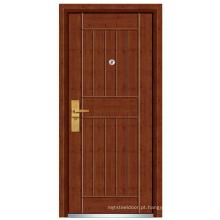 Porta de madeira de aço exterior (FXGM-C321)