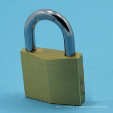 High Quality Diamond Padlock Hardened Shackle Solid Brass Padlock (265)