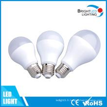 5 ans de garantie 3W à 12W E27 ampoule à LED