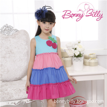 87e0c2809 China Cute Puffy Much Color Cotton Dress Made in China