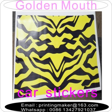 Custom Customized Colorful Vinyl Decal