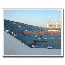 Black HDPE Plastic Sheet LDPE Geomembrane Fournisseurs
