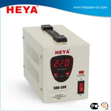SDR 500VA Тип реле автоматический AC однофазный стабилизатор напряжения avr со светодиодным дисплеем