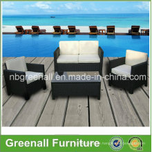 New 4PCS Rattan Wicker Furniture for Outdoor Conservatory