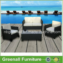 Новая мебель из плетеной плетеные 4PCS для наружной консерватории