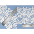 High quality white chemical lace