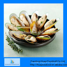 frozen half shell mussels price