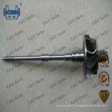 Arbre de turbine KP31 BV31 5431-120-5015 pour turbocompresseur 5431-970-0000