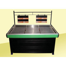 Retail Shop, Supermarket Vegetable And Fruit Products Display Shelf Metal Rack