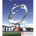 Square Big Stainless Steel Sculpture