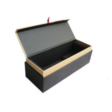 Deluxe Paper Wine Packaging Carrier Box with Logo