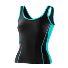 Compression Black Women Shirt PRO Tank Top