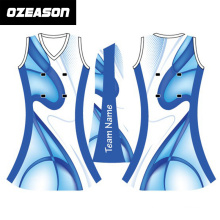 2015 Newest Fashion Custom Full Printing Netball Dress